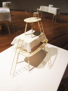 中山英之さんの展示「小さくて大きな家」