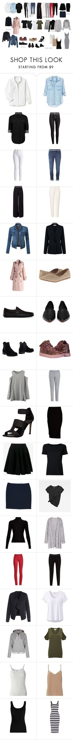 """My basic wardrobe"" by ladoreda ❤ liked on Polyvore featuring Lacoste, Rails, Boohoo, H&M, Barbour International, Dorothy Perkins, Miss Selfridge, ESCADA, LE3NO and Atea Oceanie"