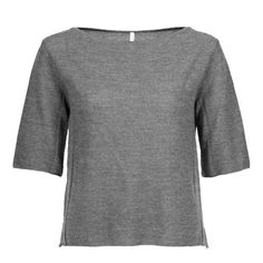 READY TO FISH Tilia Concrete Knitted T-Shirt | La Luce