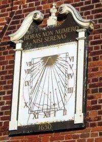 Moot Hall Sundial