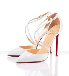 louboutin chaussure blanche