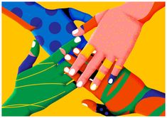 Australian artist Karan Singh has created a striking set of visuals for the Southeast Asian Games, using rainbow brights and graphic patterns to depict a range of sports Outline Artists, Asian Games, Australian Artists, Graphic Patterns, Pop Art, Illustration Art, Vibrant, Animation, Drawings