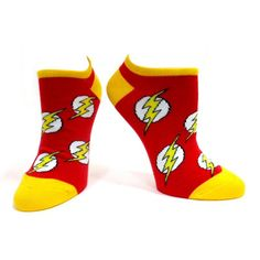 The flash, with these socks you still can't run as fast... :p #merchandise #comics #superhero #DC
