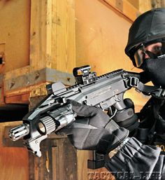 HOP INTO THE SPECIAL WEAPONS for M&P TIME CAPSULE: back to the June 2012 issue...CZ SCORPION EVO 3 A1 9mm: Next-generation submachine gun brings high-tech accuracy!