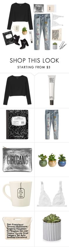"""""""Parisiense 2"""" by vialmeidacuellar ❤ liked on Polyvore featuring Monki, Make, Mead, Pierre Hardy, Sarah Baily, Chicnova Fashion and BOBBY"""