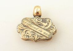 Antique Victorian Gold Filled A Friend in need by MindiLynJewelry, $40.00