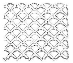 Sole stitch crochet pattern