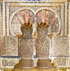 Detalle de la fachada de la Mezquita de Córdoba