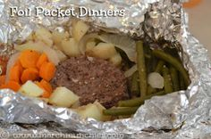 March Munchies: Foil Packet Dinners