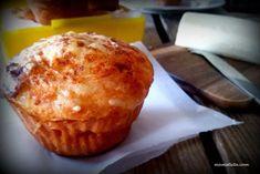 Τυρένια μάφινς στο πι και φι - mamatsita.com Muffins, School Snacks, Sweets Recipes, Cake Pans, Appetizers, Cheese, Cookies, Breakfast, Ethnic Recipes