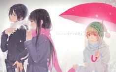 Yato, hiyori & yukine <3