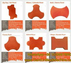 colored concrete cement interlocking tile pavers produced by china giantlin paving block making machine Concrete Building Blocks, Paver Blocks, Cement Art, Concrete Cement, Engineers Day, Interlocking Bricks, Brick Molding, Making Machine, Salman Khan