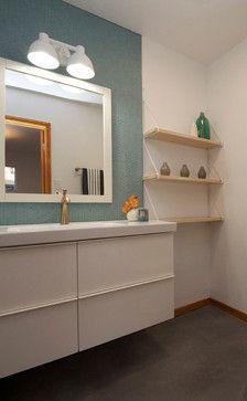 Brass Tacks modern-bathroom
