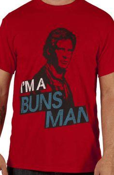 Buns Man Han Solo Shirt