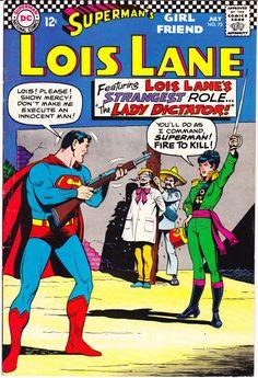 Superman Book, Superman Comic, Superman Family, Superman Stuff, Lois Lane, Dc Comic Books, Comic Book Covers, Comic Art, Superman Girlfriend