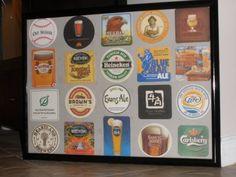 Framed Beer Coasters