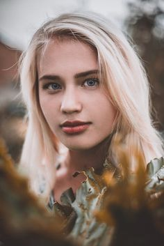 Selective Focus Photo of Woman With Blue Eyes · Free Stock Photo Ash Blonde Hair, Blonde Color, Hair Color, Color Red, Beauty Routine Planner, Woman With Blue Eyes, Most Beautiful Eyes, Hair Toppers, Beauty Forever
