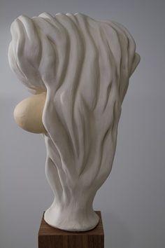 Dominic Papillon - Tête de Faune Sculpture, Statue, Wild Life, Butterflies, Sculpting, Sculptures
