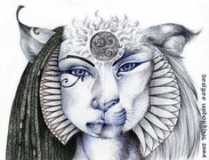 Hathor and Sekhmet are two sides of the same Goddess. Hathor is Her gentle, nurturing and life-giving aspect, while Sekhmet is Her fierce and destructive side. Hathor, the Holy Heifer, symbolises t…