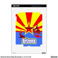 Arizona State Flag Drawing iPad 3 (Wi-Fi/Wi-Fi + 4G LTE) Skin