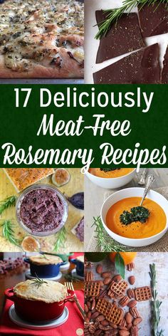 Rosemary is a quintessential winter spice that you probably associate with meat, but there are lots of delicious vegan ways to cook with rosemary, too!