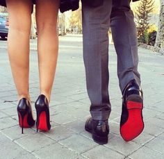 Imagen vía We Heart It https://weheartit.com/entry/162371121 #black #boy #boyfriend #couple #couples #future #girl #girlfriend #love #red #relationships #romantic #shoes #years