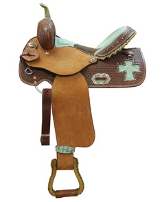 Alamo Saddlery® Gator Cross Barrel Racer Saddle  from www.spoilmyhorse.com                         Like but would do different color