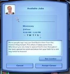 Mod The Sims - Sims 3 Priest Career - Full Time