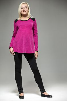 Loose Lilac Maternity Sweater