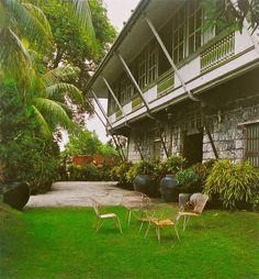 Montilla Heritage House Negros Filipino Architecture, Philippine Architecture, Tropical Architecture, Spanish Architecture, Vernacular Architecture, Colonial Architecture, Spanish Colonial Homes, Spanish House, Tropical House Design