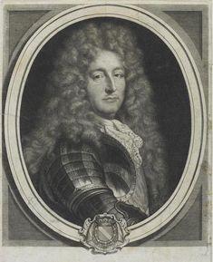 Messire Anne Jules de Noailles, Comte d'Ayen puis 2ème. Duc de Noailles, Maréchal & Pair de France (1650-1708).