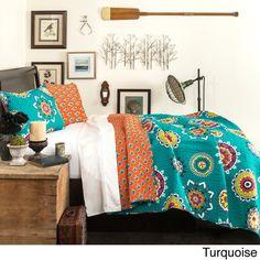 Lush Decor Adrianne 3-piece Quilt Set | Overstock.com Shopping - The Best Deals on Kids' Quilts