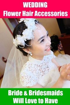 Beautiful flower hair accessories for wedding occupy a special place in the overall wedding preparation of bride and bridesmaids. After all getting dressed up for the big day is such an amazing feeling. After you have decided about your dress…Read more →