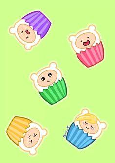 Finn cupcakes?! Adventure Time