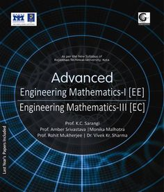 Contents: 1. Laplace Transform 2. Fourier Series 3. Z-Transforms (Not For III Semester Electrical Engineering) 4. Fourier Transform 5. Complex Variables: Differentiation & Integration 6. Complex Variables: Power Series and Contour Integration 7. Calculus of Variations (Only For III Semester Electrical Engineering)