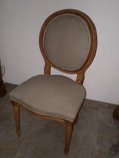 plus de 1000 id es propos de chaise medaillon sur pinterest louis xvi et toile de jouy. Black Bedroom Furniture Sets. Home Design Ideas