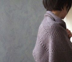 Textured shawl recipe - orlane