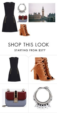 """""""Untitled #12226"""" by jayda365 ❤ liked on Polyvore featuring Balenciaga, Gianvito Rossi, Valentino and Joomi Lim"""