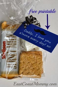 SIMPLE Father's Day Treat {with free printable tags}. A-D-O-R-A-B-L-E!