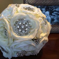 Rhinestone Crystal Bouquet Brooch | Bouquet Jewels | Hassle Free Shipping