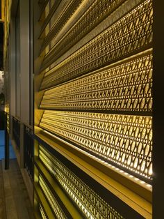 Facade Lighting, Luminaire Design, Window Wall, Blinds, Windows, Curtains, Architecture, Pattern, Home Decor