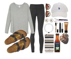 """oh i just can't wait to... DRIVE!!"" by kierstinmoyers ❤ liked on Polyvore featuring Under Armour, Birkenstock, Kate Spade, J.Crew, Ray-Ban and Sephora Collection"