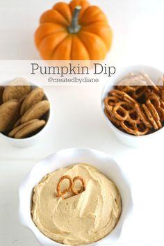 Pumpkin Dip @createdbydiane