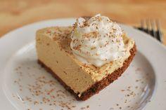 No-Bake Peanut Butter Pie - Fake Ginger