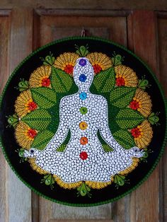 Puntillismo Dot Painting Tools, Dot Art Painting, Pebble Painting, Pebble Art, Stone Painting, Mandala Art, Mandala Painting, Mandala Design, Hamsa Art