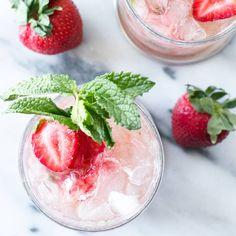 Strawberry Mint Jule