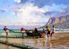 Imagem relacionada South African Art, Watercolour Painting, Coast, Landscape, Artwork, Inspiring Art, Oil Paintings, Beautiful, Google Search