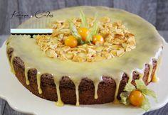 Coko-karamelova s mandlami Tiramisu, Cake Recipes, Gluten Free, Pudding, Cheesecake, Ethnic Recipes, Food, Cakes, Glutenfree