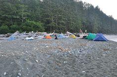 West Coast Trail, overnight camp
