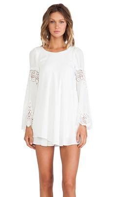 For Love & Lemons Festival Dress in White | REVOLVE